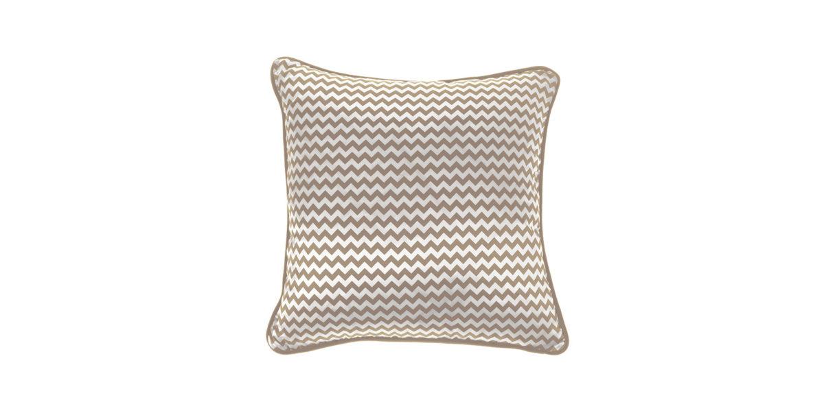 Gfh Cushion Chevron Small Beige