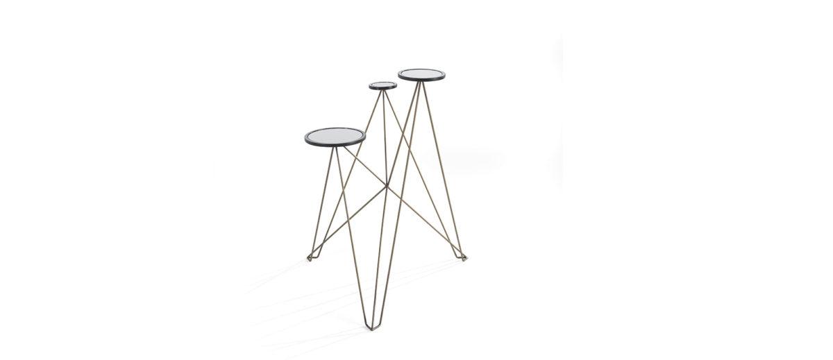 Gianfranco Ferre Home Effiel Side Table