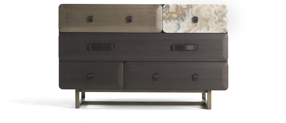 Gianfranco Ferre Home Five Points Chest Of Drawers