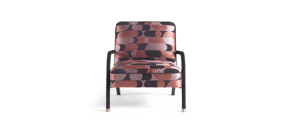 Gianfranco Ferre Home Loop Armchair