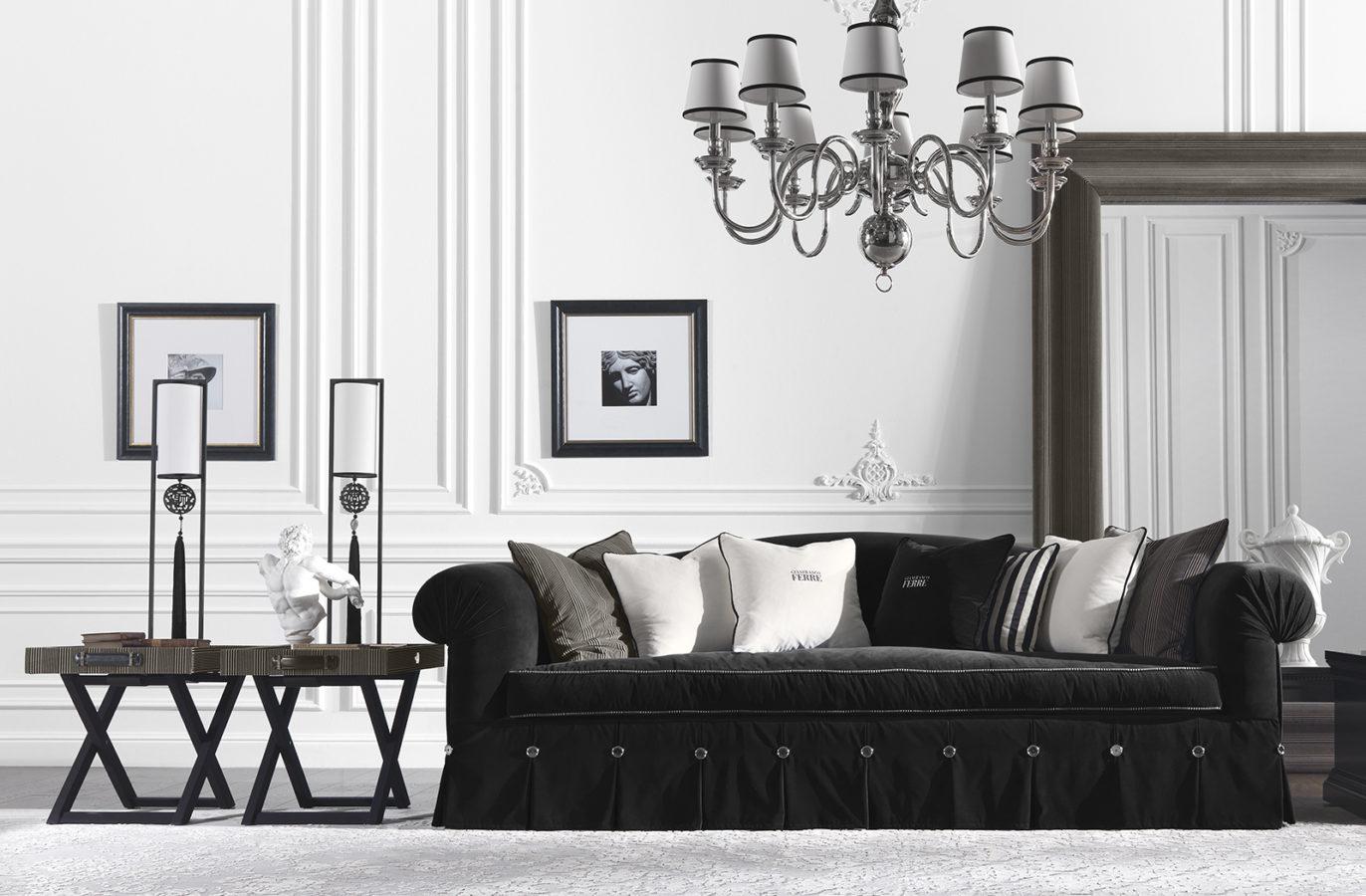 Gianfranco Ferre Home Kensington Side Table 03