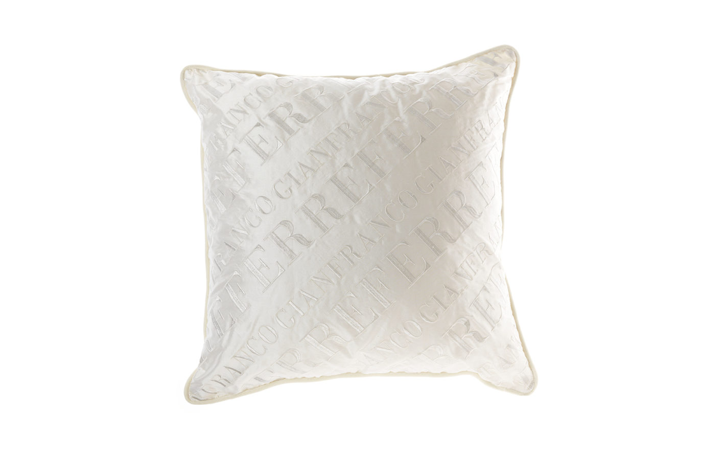 Gianfranco Ferre Home Logo Cushion
