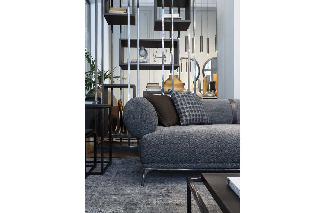 Gianfranco Ferre Home Mackintosh Bookcase 2021 01