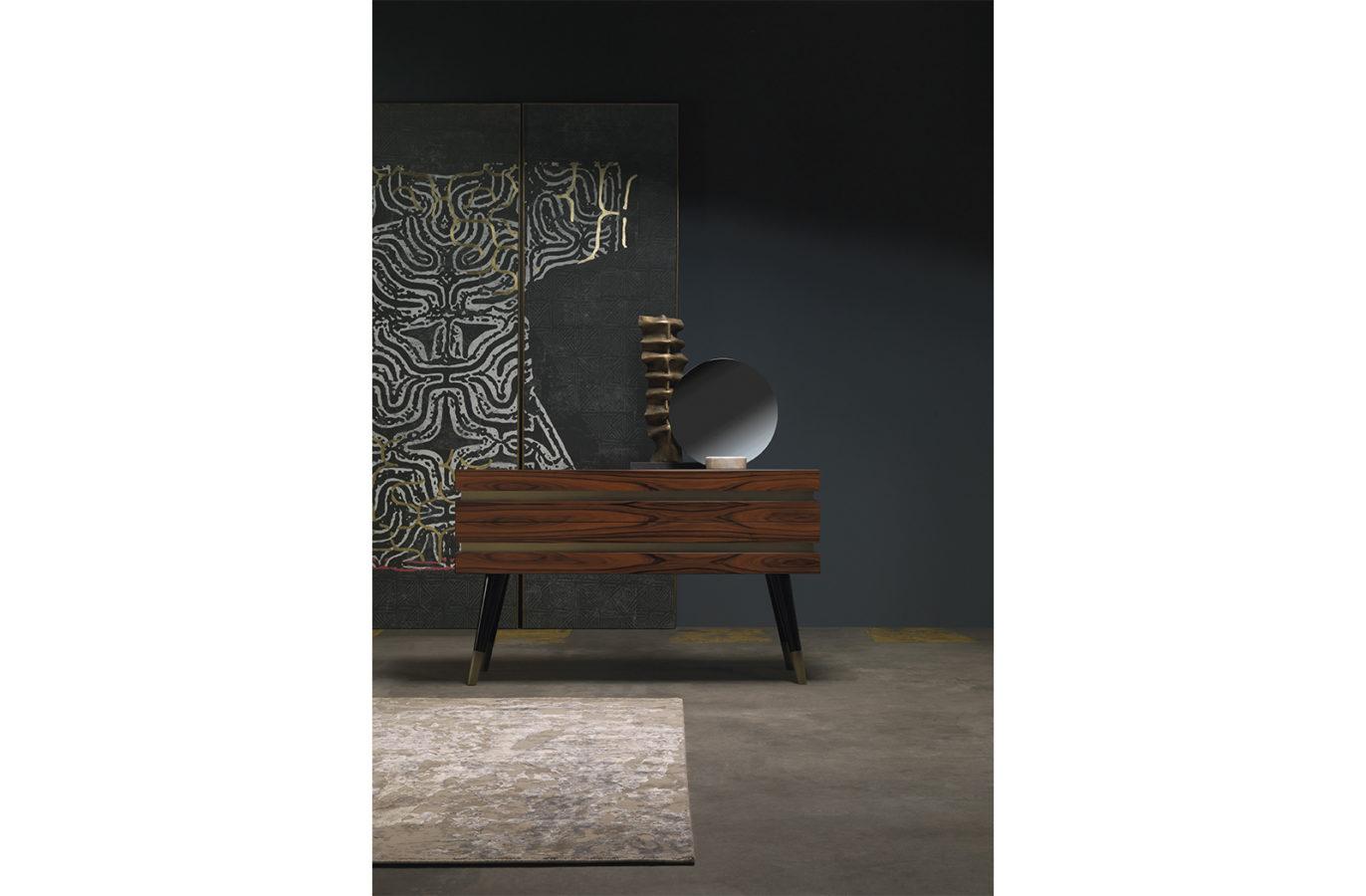 Gianfranco Ferre Home Moon Mirror 01