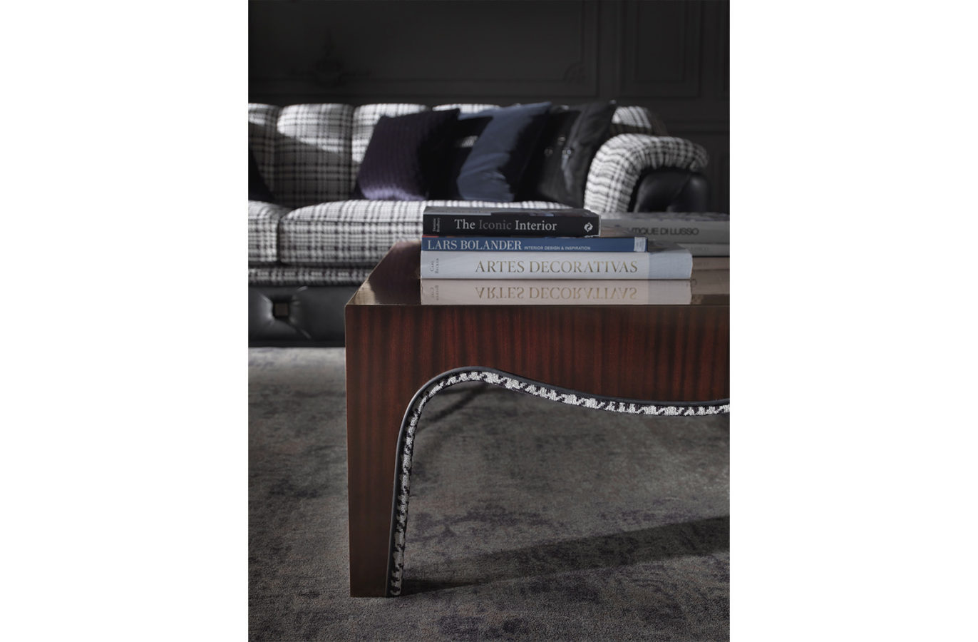 Gianfranco Ferre Home Royal Side Table