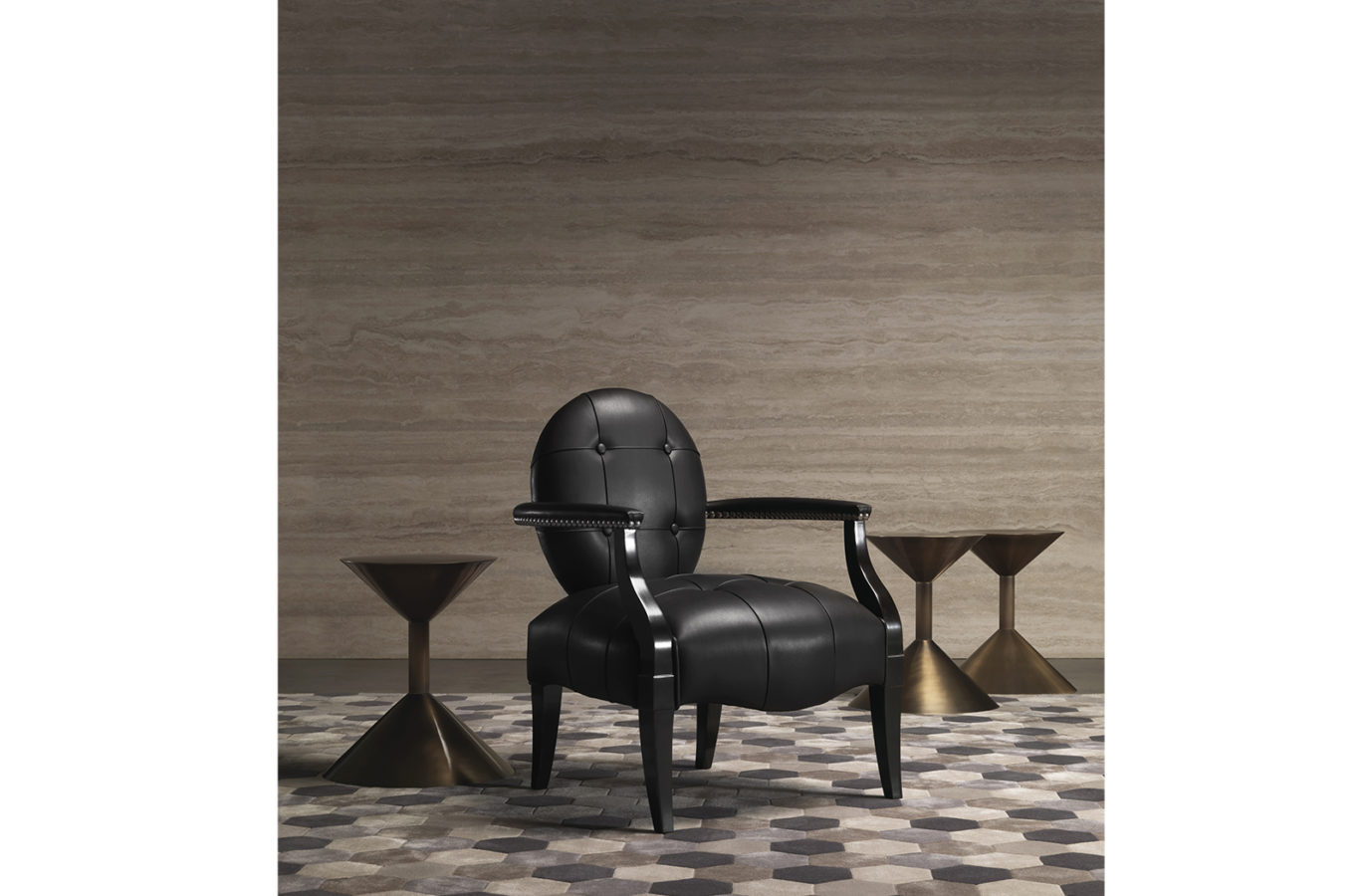 Gianfranco Ferre Home Sand Side Table