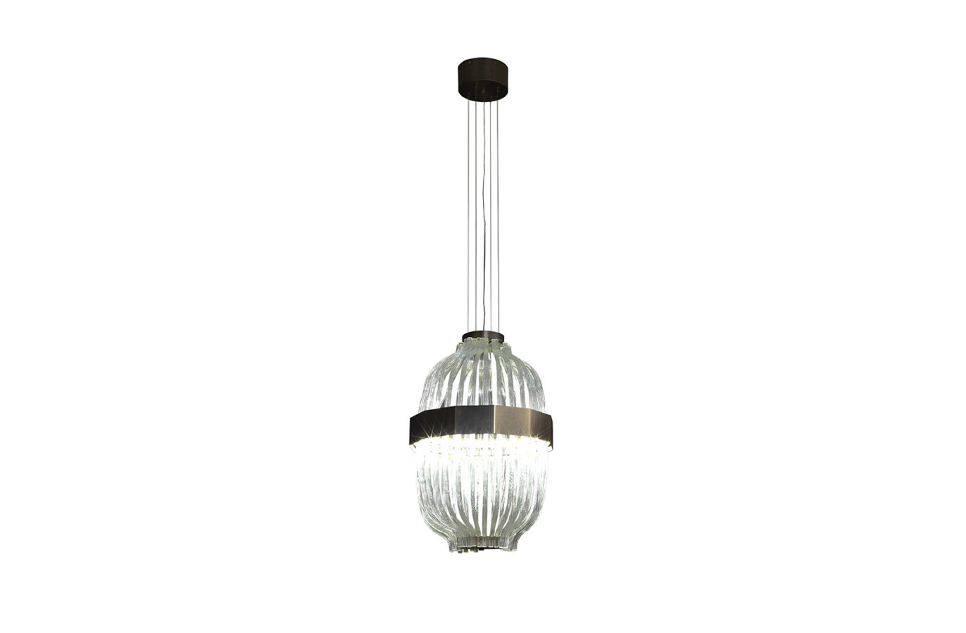 Wicker Suspension Lamp 2