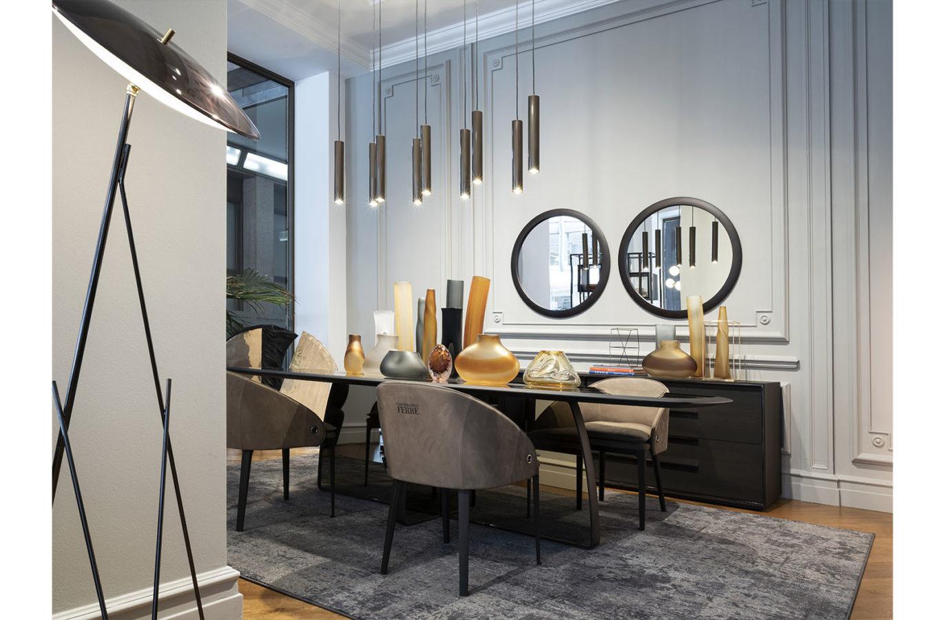 Gianfranco Ferre Home Warm Living Showroom 01